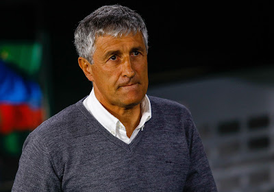 """Quique Setien: """"Les cinq changements vont nuire au Barça"""""""