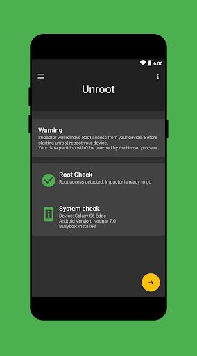 Impactor Universal Unroot 5.9.7 screenshots 1