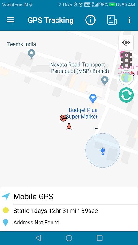 GPS Tracker using Traccar screenshots