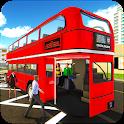 City Coach Bus Driver 3D icon