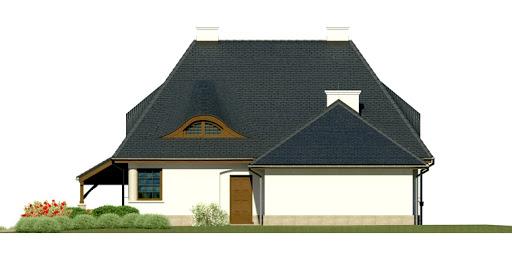 Dom przy Malowniczej 3 - Elewacja prawa