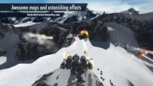 Mech Battle - Robots warfare  captures d'u00e9cran 1
