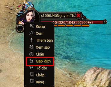 Giao Dịch | Webgame Khoa Huyễn Cửu Tinh Vô Song | 360game.vn