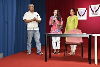 Photo: New Secretary Mrs Kanniakumari