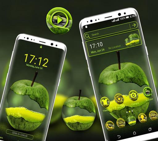 green apple launcher theme screenshot 3