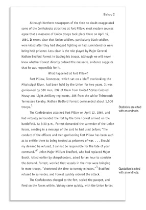 example of an essay in turabian format
