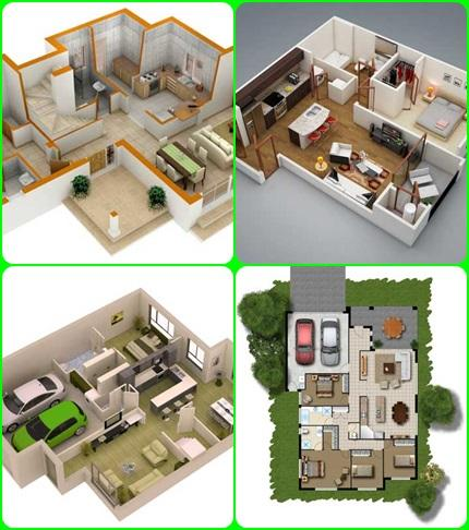 Download 3d modern house plan for pc Home design 3d pc