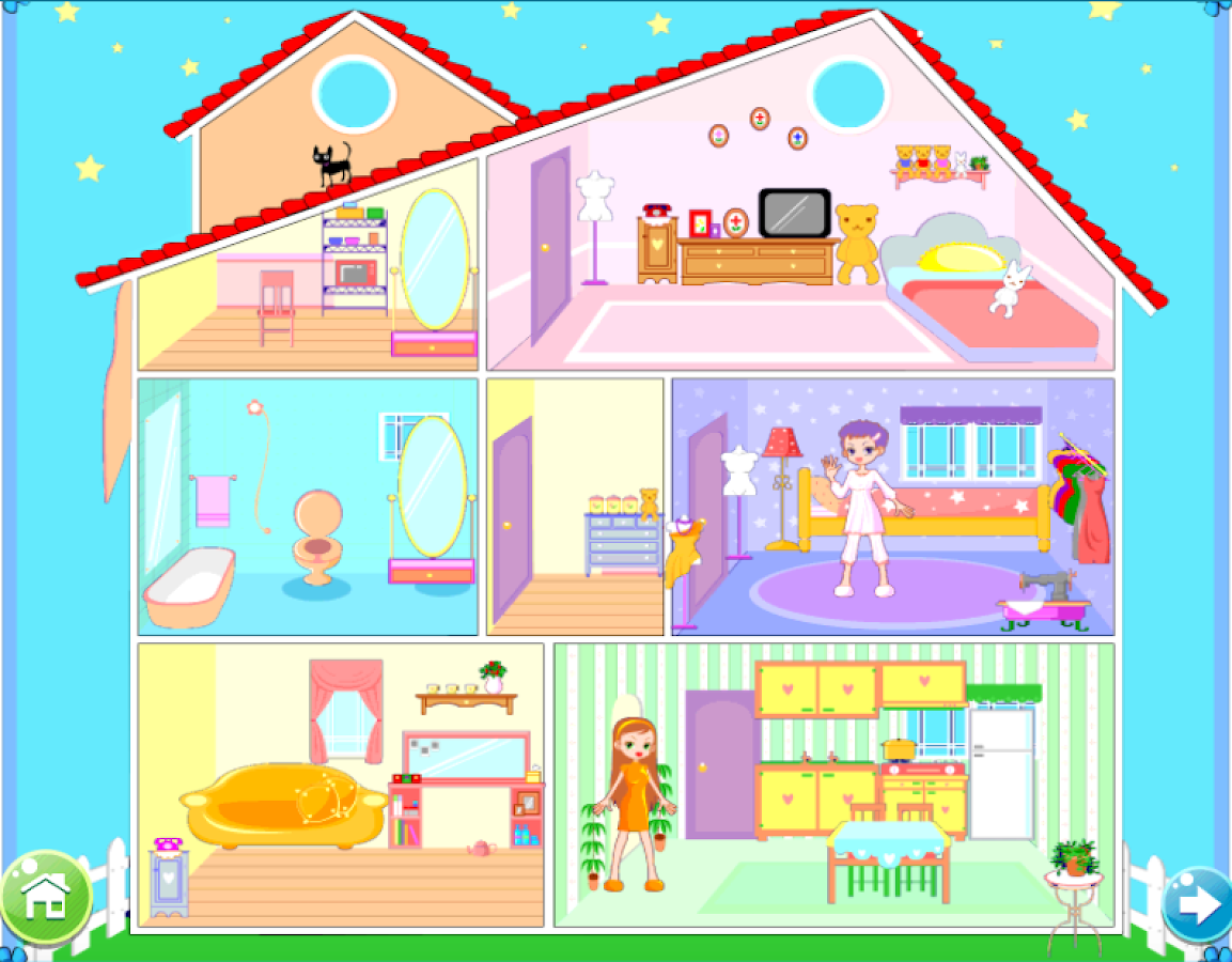 Home Decor Games Screenshot