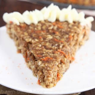 Carrot Cake Oatmeal Cookie Cake.