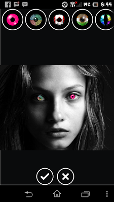 Nice Eyes Color Changer - screenshot