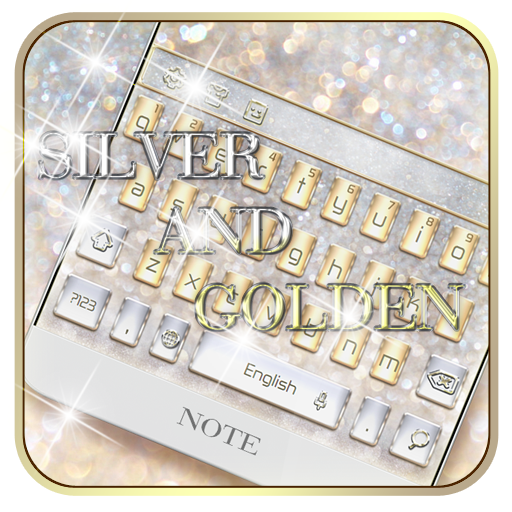 Silver and Gold Theme Keyboard file APK Free for PC, smart TV Download