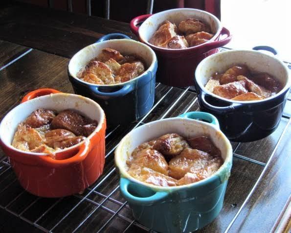 Croissant Bread Pudding Recipe