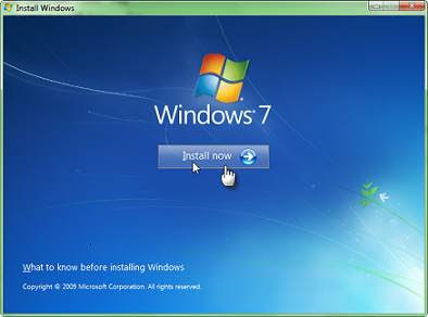 Tăng tốc cài đặt windows xp, windows 7