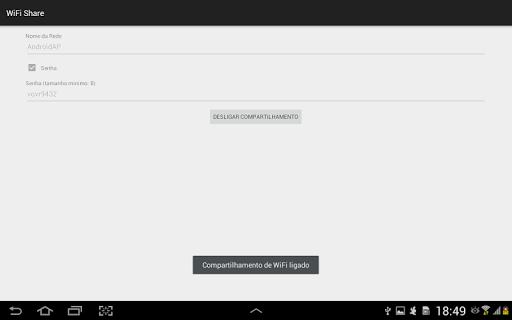 WiFi Share Mobile Data - Router screenshot 5