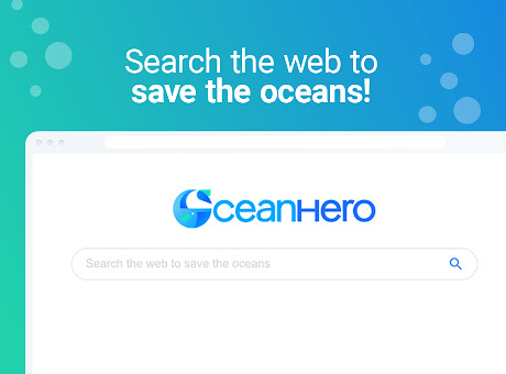 OceanHero - Search the web & save the oceans