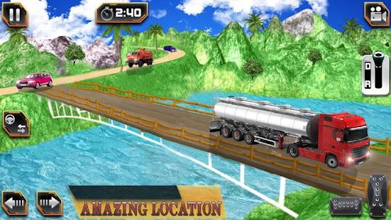 Fuel Tanker Transport Driver - náhled