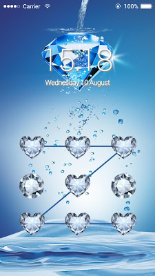Applock Theme Diamond - screenshot