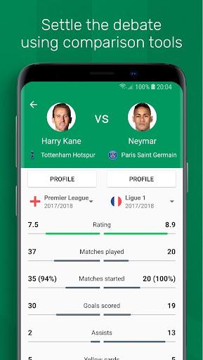 FotMob - Live Soccer Scores 87.0.5647.20181031 screenshots 5