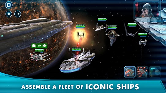 Download Star Wars: Galaxy of Heroes Android Star Wars role-playing game + mod 2
