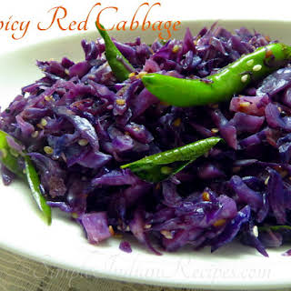 Spicy Red Cabbage.