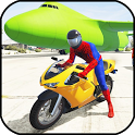Superheroes city Stunt racing 2018 icon