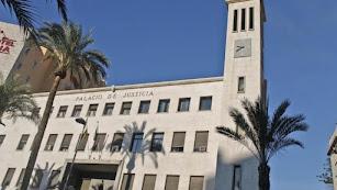 Imagen de archivo de la Audiencia Provincial.