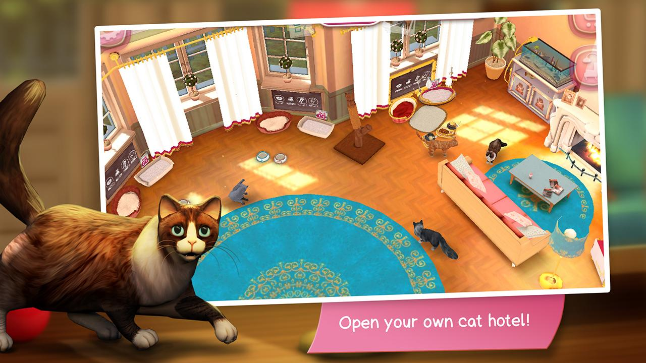 Cathotel hotel for cute cats android apps on google play for Small luxury hotel 7 little words