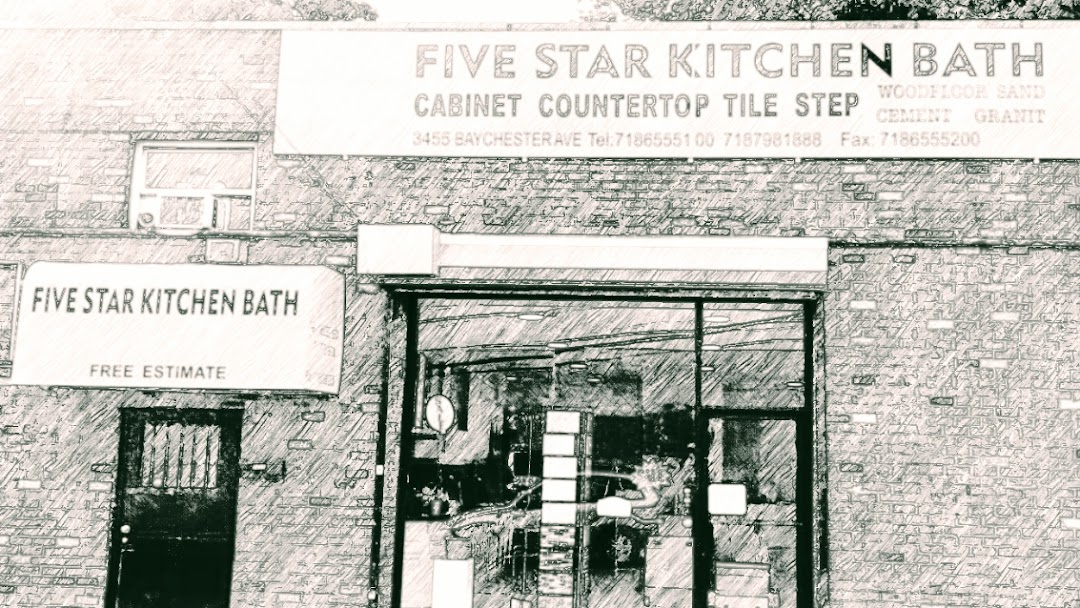 Five Star Kitchen Bath Inc Bronx的厨房改造商