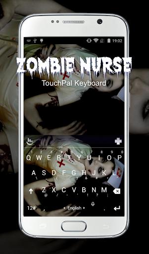 Zombie Nurse Keyboard Theme