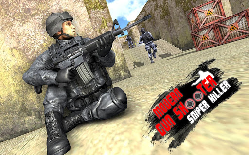 Modern Gun Shooter Sniper Killer 1.0.1 screenshots 15