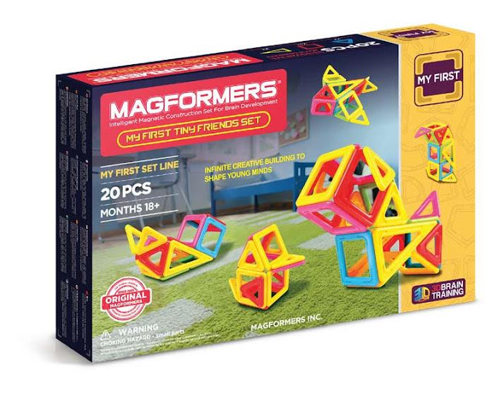 Contenido de Magformers® My First Tiny Friend Set