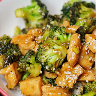15 Minute Chicken and Broccoli.