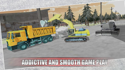 Snow Plow Winter Simulator