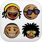 African Emoji Keyboard 2018 - Cute Emoticon Icon