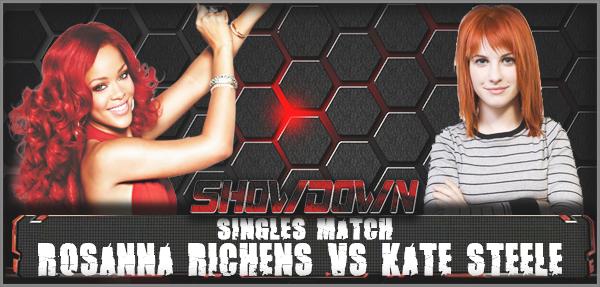 VSRosanna Richens vs Kate Steele