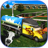 Milk Supply Truck Transporter Android APK Download Free By Glow Games