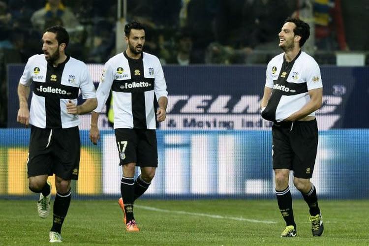 Parma pakt eerste punten van seizoen dankzij Cassano