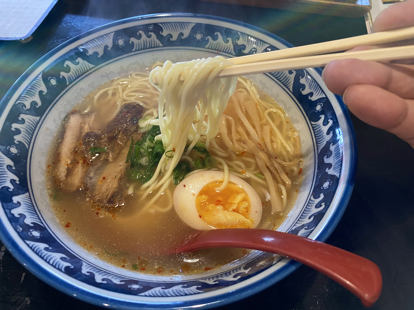 四川ラーメン麺リフト