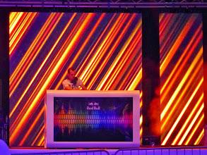 Photo: Noch ist der DJ fast für sich allein. Doch in Velden sind die Nächte lang.