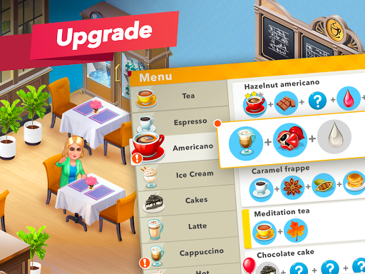 My Cafe u2014 Restaurant game apkdebit screenshots 16