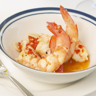 Garlic-Chili Prawns