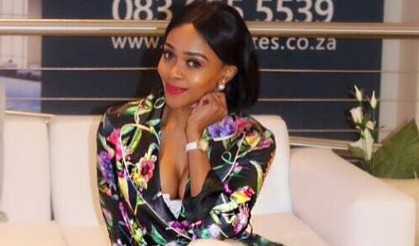 Thembi Seete says she is in awe of God's timing and his trust in her.