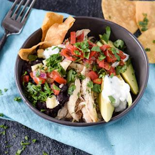 Chicken Burrito Bowls.