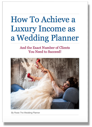 wedding planner salary ebook