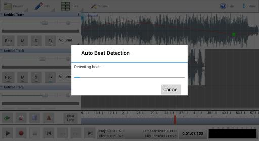 MixPad Multitrack Mixer Free screenshot 4