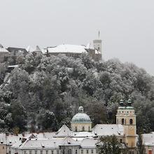 Photo: Ljubljana castle, 28-Oct-2012