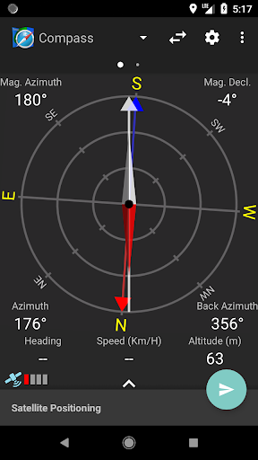 Compass and Coordinate Tool screenshot 2