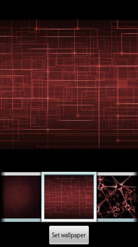 Скриншот Red ADW Theme