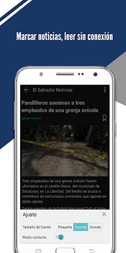 El Salvador Noticias screenshot 3