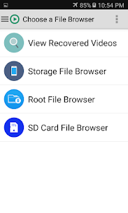 Video Recovery apk download 3